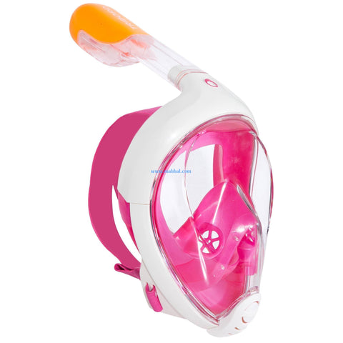 EASYBREATH SURFACE SNORKELING MASK - PINK