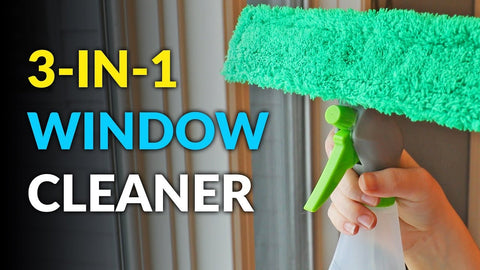 3 in 1 spray window cleaner
