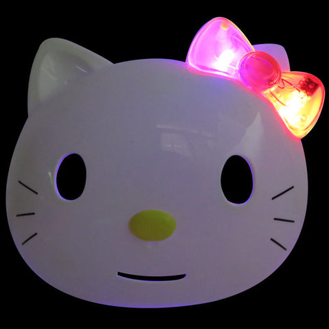 "LED Hello Kitty Mask for ""KIDS"""