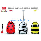 REMOTE CONTROL KIDS SUITCASE BAG