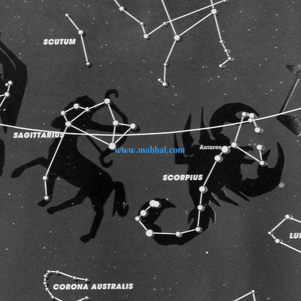 The Real Map To The Stars That Totally Glows In The Dark