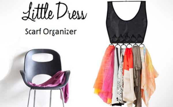 Little dress Scarf Organizer