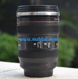 Lens Self Stirring Mug
