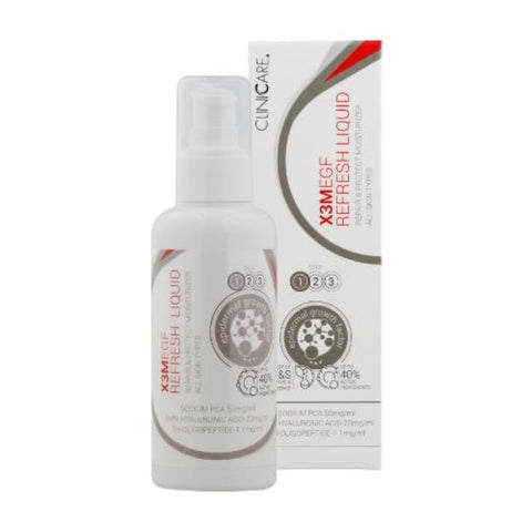 CLINICCARE X3M EGF REFRESH LIQUID MOISTURISER