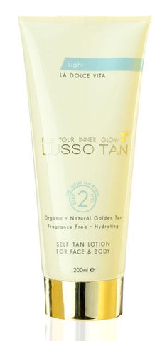 Lusso Tan Self tan lotion Light