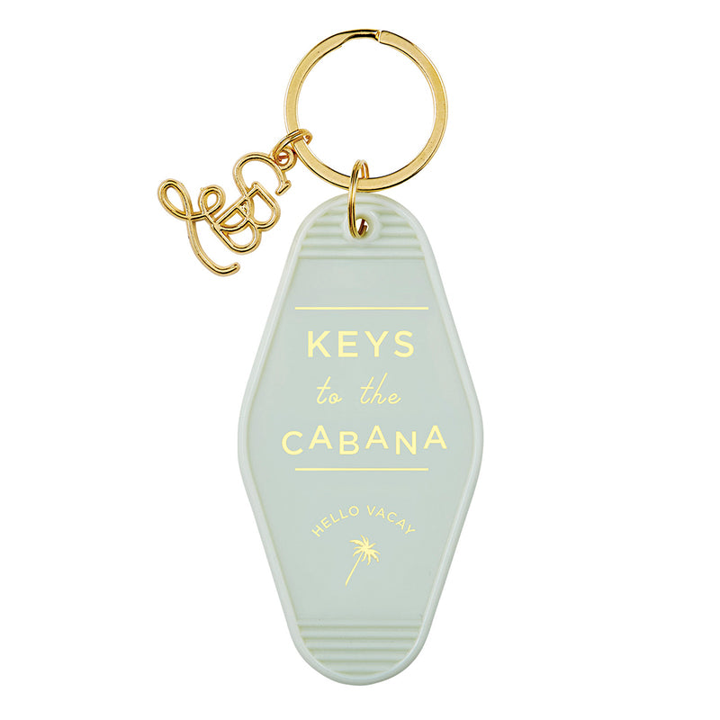 Motel Key Tag Cabana