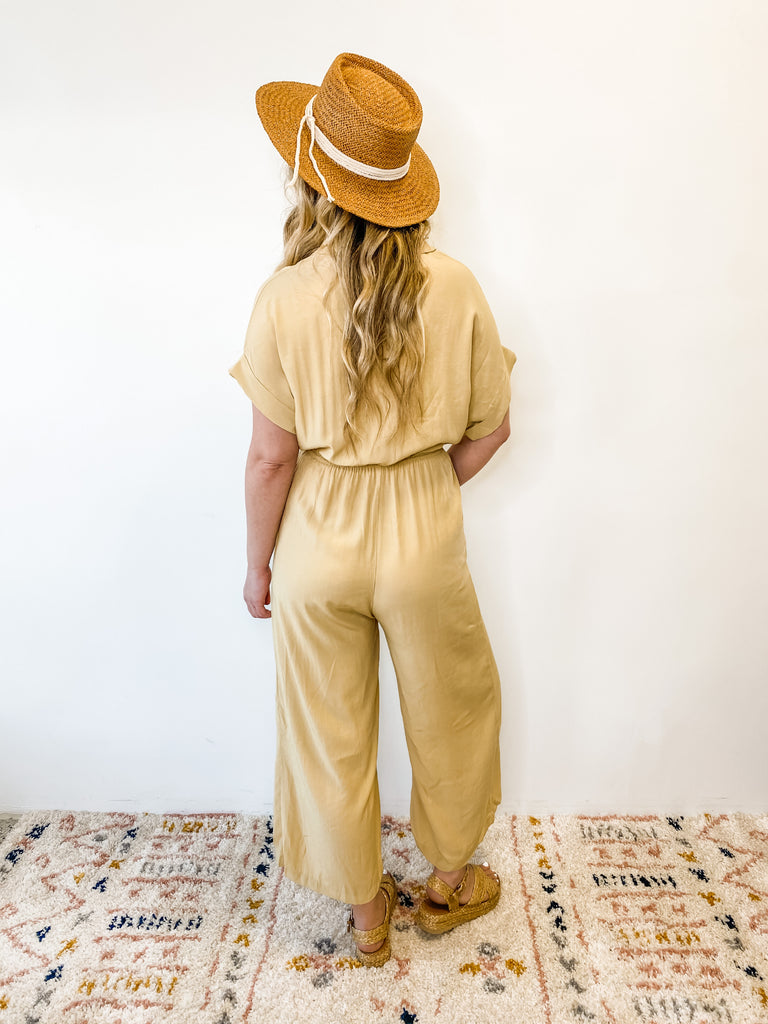 Just Chill Jumpsuit Yellow