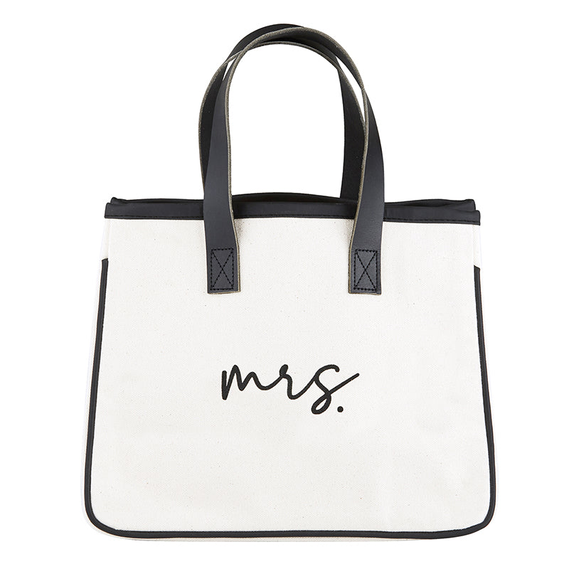 Mrs. Mini Canvas Tote