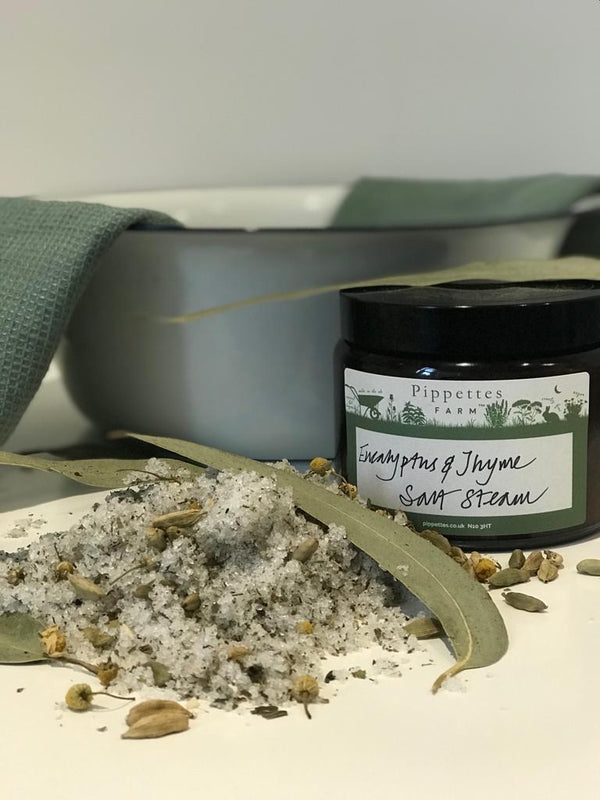 Pippettes Salt Steam with Eucalyptus and Thyme