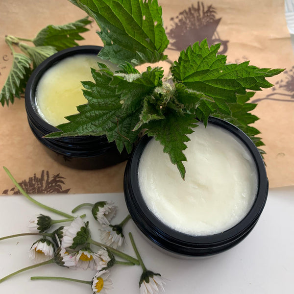 Daisy & Nettle: The easiest Vegan Herbal Balm to make during lockdown.