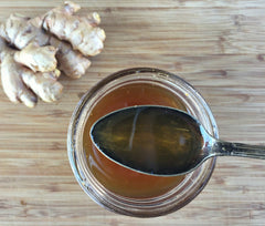 Ginger lime syrup herbal remedies