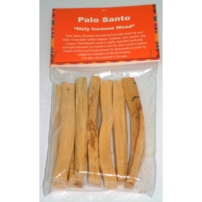 Palo Santo - Burning wood sticks