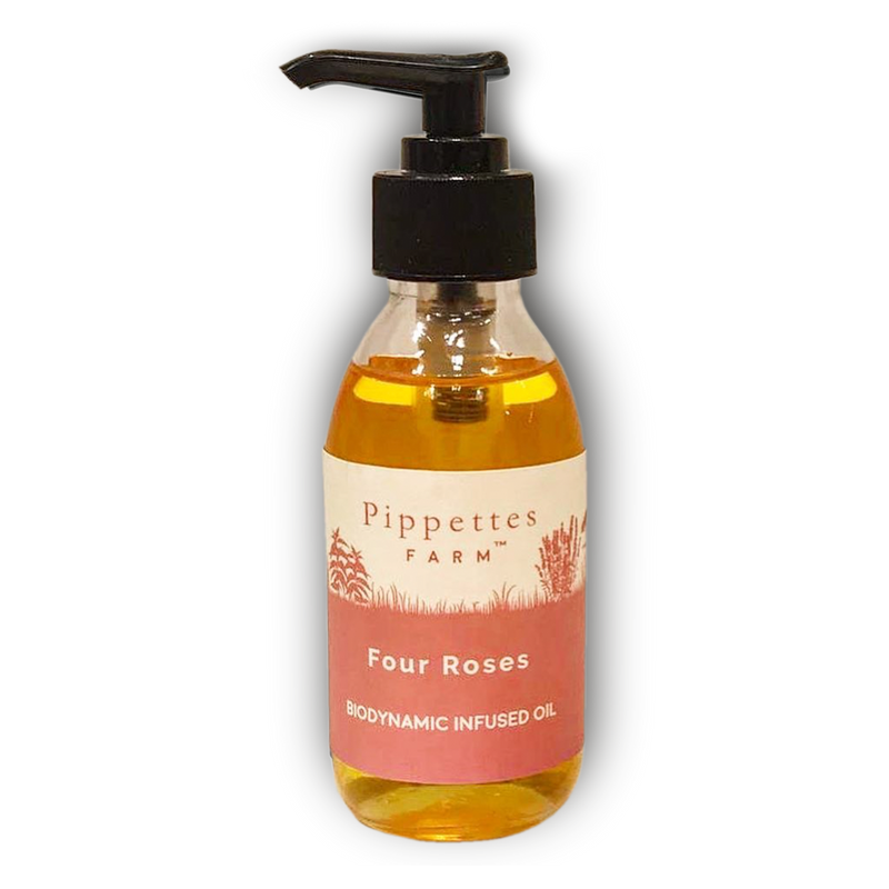 Rose infused anti-inflammatory  moisturising beauty oil