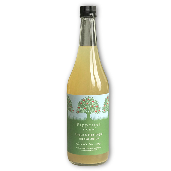 medium dry apple juice