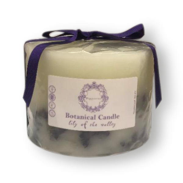 Botanical candles by Pippettes 150mm - Lily of the Valley