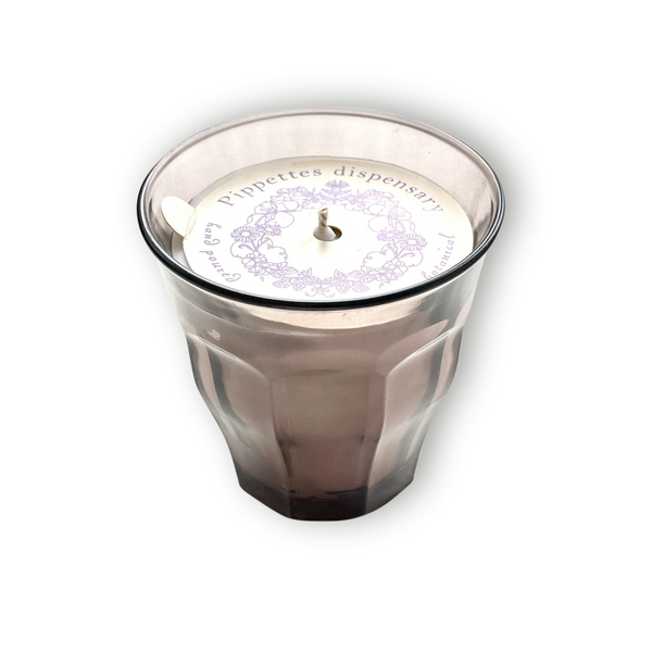 Smoke Duralex glass Soy candles - Sweet Pea - Pippettes
