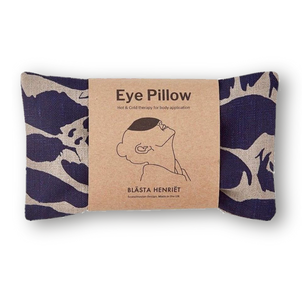 Eye Pillow - Linen Plain & Navy
