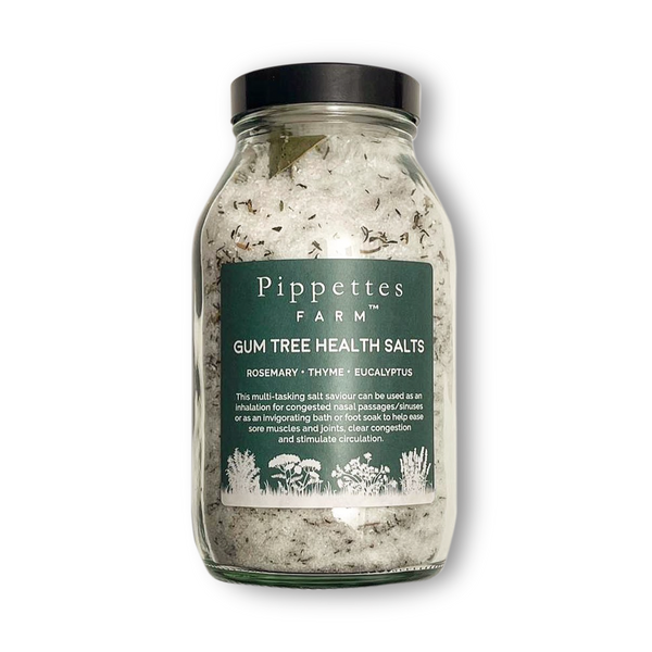 Pippettes Gum Tree Health Salts - Invigorating & Decongesting