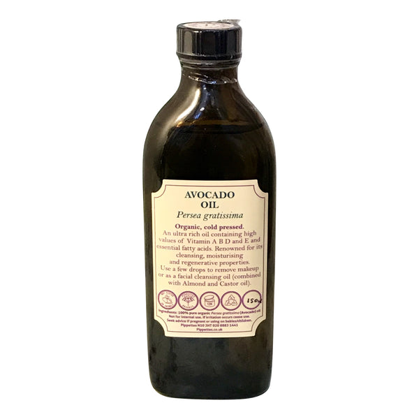 AVOCADO OIL - ORGANIC, COLD PRESSED