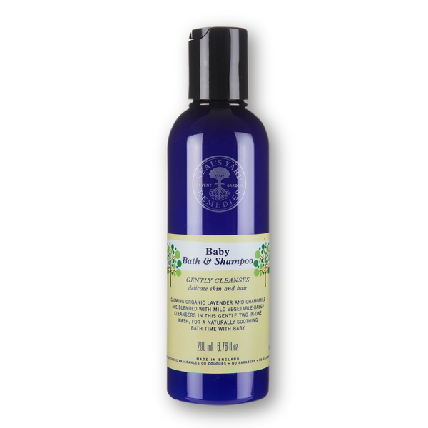 Neals Yard Baby Bath & Shampoo 200ml ORG