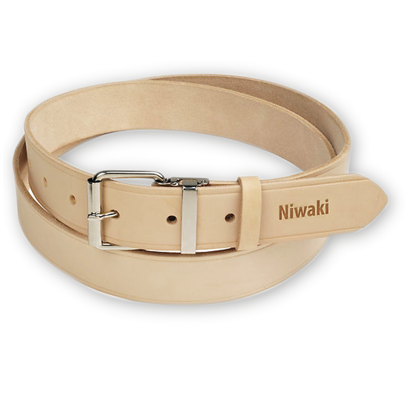 Niwaki Leather Belt - One size - adjustable