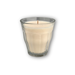 25 hour natural wax candle