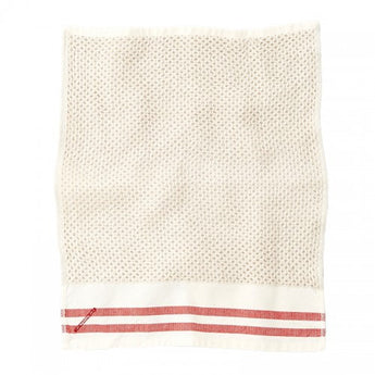 Honeycomb Towel- Red