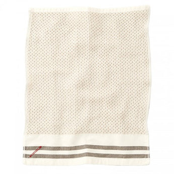 Honeycomb Towel-Khaki