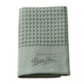 Cotton Waffel Towel-Khaki