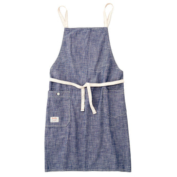 Chambray Navy Bib Apron