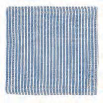 Pinstripe Blue Coasters (set of 6)