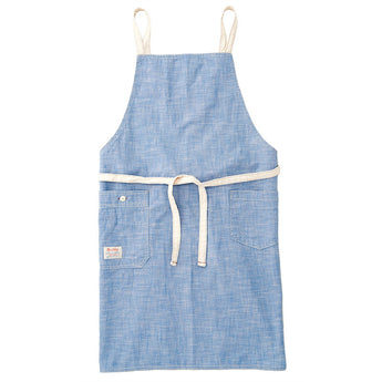 Chambray Blue Bib Apron