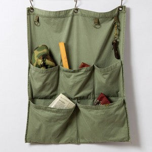 Wall Pocket-Duck Khaki