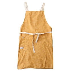 Chambray Yellow Bib Apron