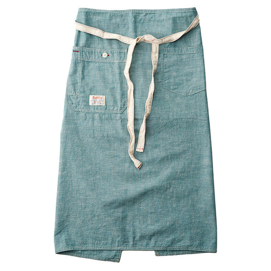 Chambray Green Bistro Apron