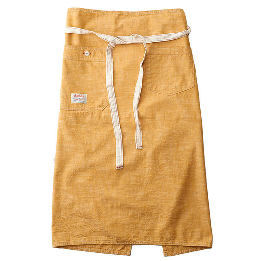Chambray Yellow Bistro Apron