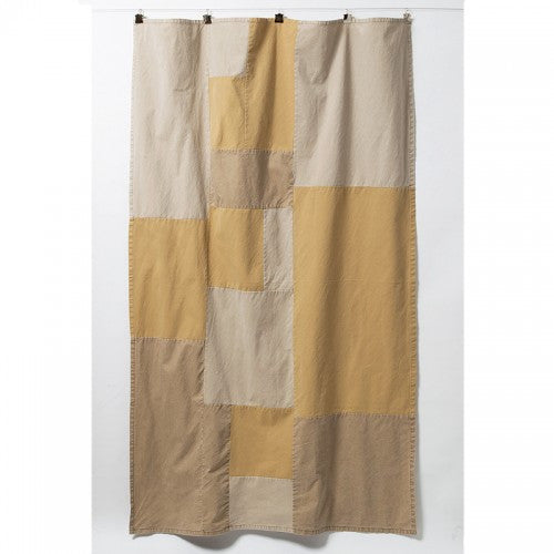 Duck Patchwork Throw-Beige
