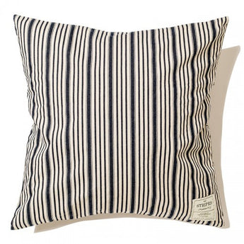 Indigo Cushion Cover-Stripe A