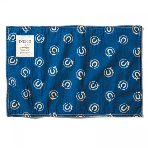 Indigo Place Mats-Horse (set of 3)