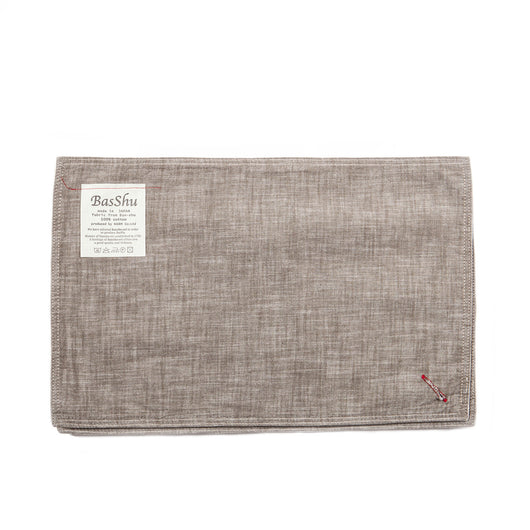 Chambray Khaki Place Mats (set of 3)