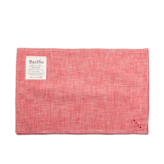 Chambray Red Place Mats (set of 3)