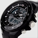 Men's 50M Waterproof Silicone Sports Watch Analog/Digital