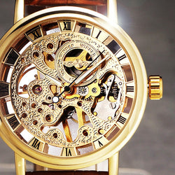2017 Luxury Edition Skeleton Mechanical Men's Watch