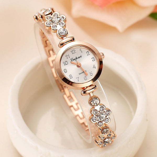 Summer Style Women's Luxury Stainless Gold Wrist-Watch