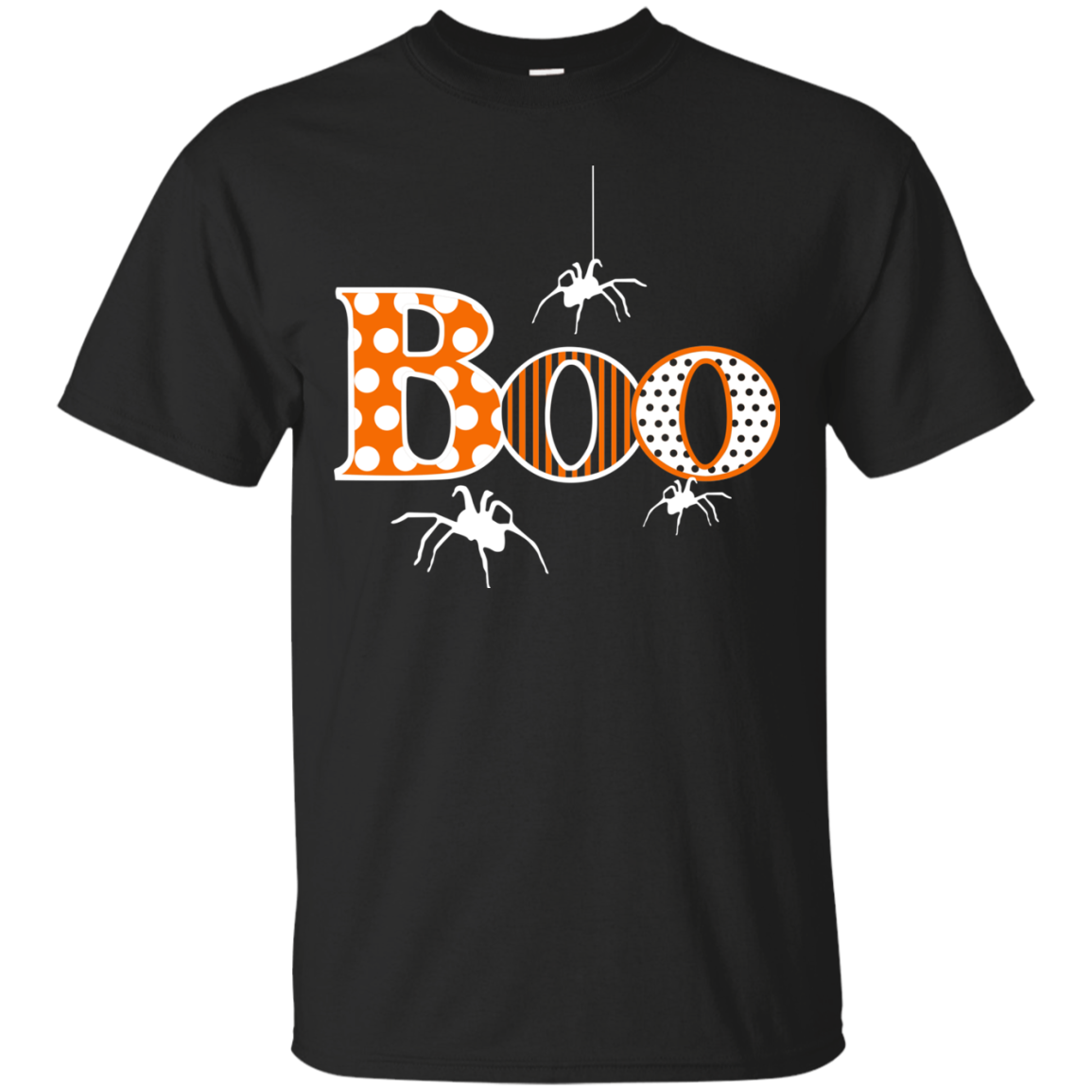 Boo With Spiders Halloween Men T Shirt For Father  Brother  Boyfriends  Grandpa  Friends On Halloween 2017  Best Halloween Gift Ideas For Your Beloved