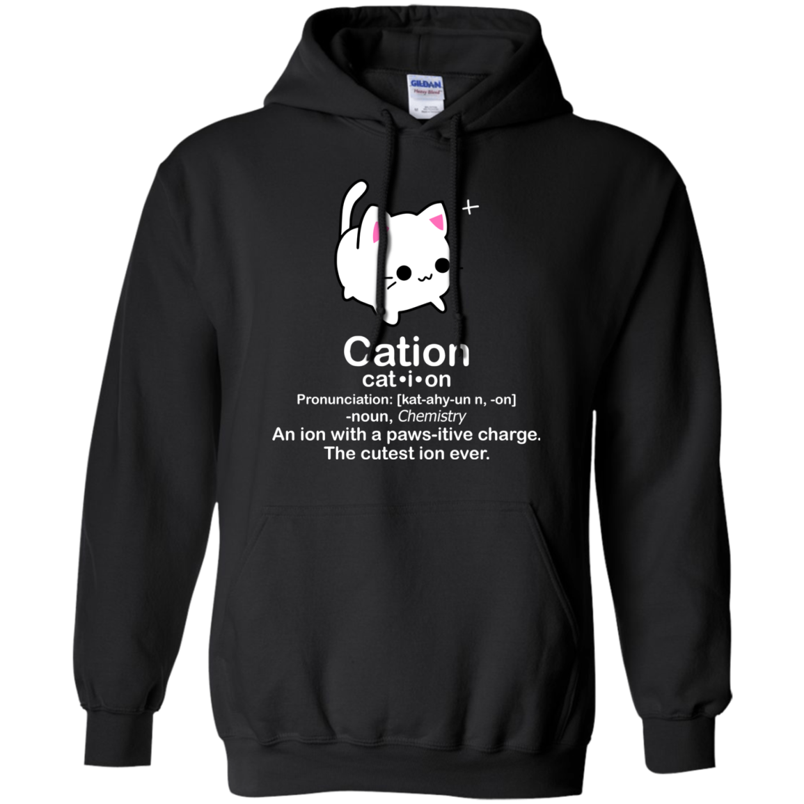 Cation Means Cat And Cation Xmas Hoodie Unisex Gift Ideas Ngan97