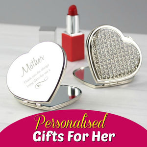 Browse our range of personalised gifts for her