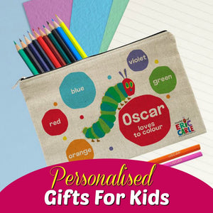 Browse our range of personalised gifts for Kids