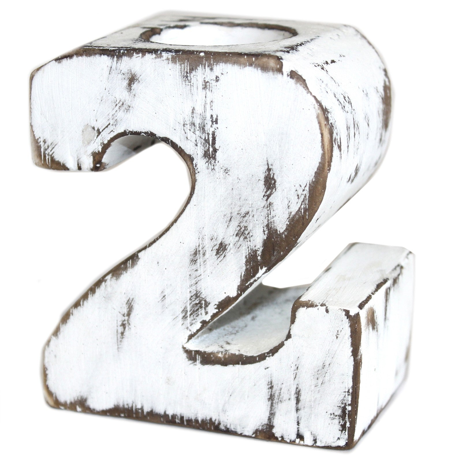 Wooden Birthday Numbers - No.2, Home & Garden by Low Cost Gifts