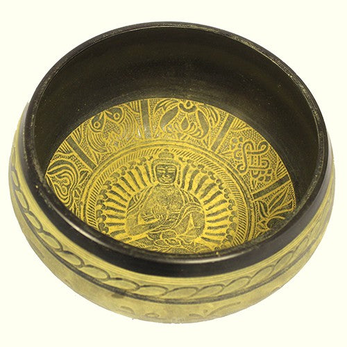 Extra Loud - Singing Bowl - One Buddha, Musical Instrument & Orchestra Accessories by Low Cost Gifts